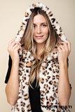 Stay Warm Leopard Vest