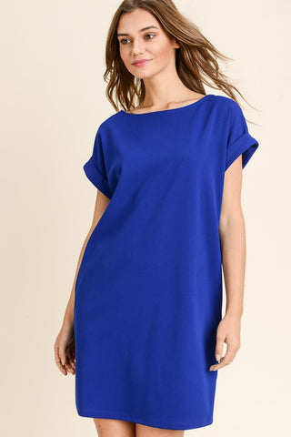 Take it Easy Blue Dress