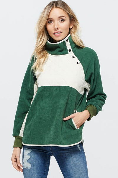Prime Green Long Sleeve top