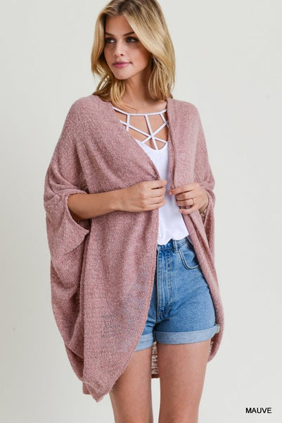 Stacy Solid Cardigan