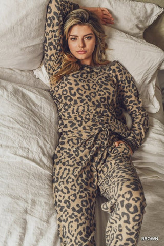 Leopard Super Soft Lounge-wear