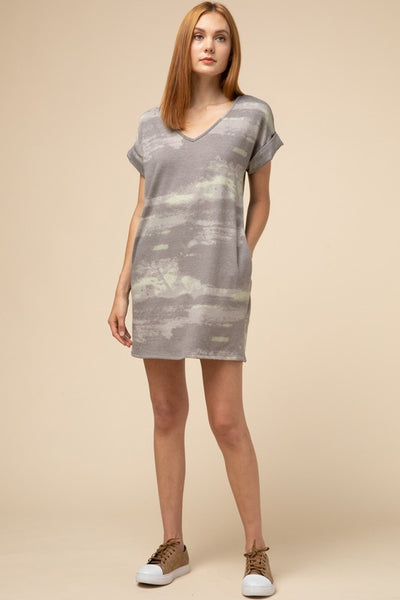 Trista Tie Dyed Dress