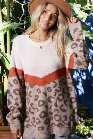 Lioness Loose Fit Sweater