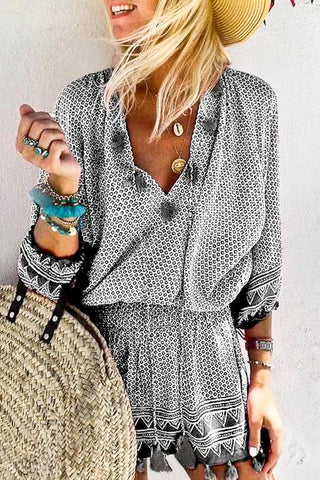 Tassel Time Dress
