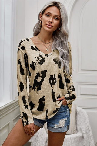 Live your Life Leopard top
