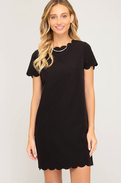 Black is Back Dress