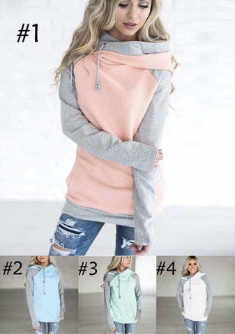 Farrah Top with zipper and hood