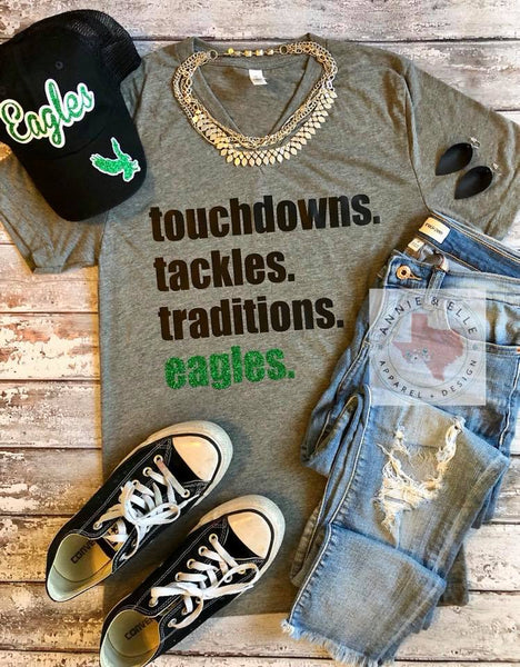 touchdowns. tackles. traditions. Youth and Toddler