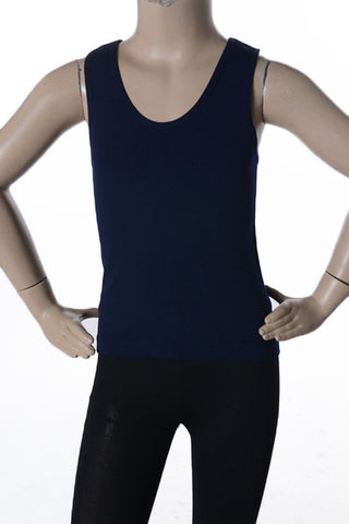 Back it up Black Tank for GIRLS