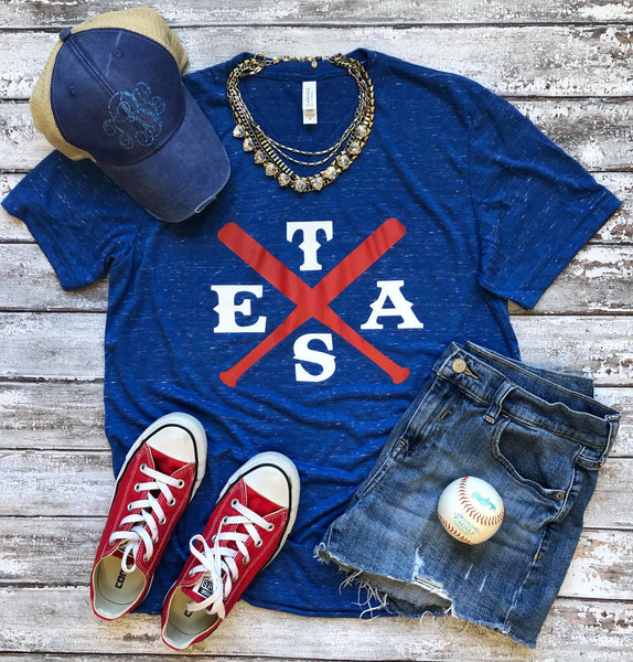 TEXAS Baseball Tshirt