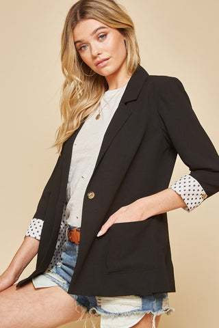 Memories Black blazer