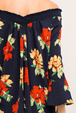 Loyalty Floral Navy top