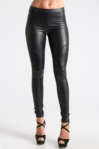 Kingdom Leggings faux leather