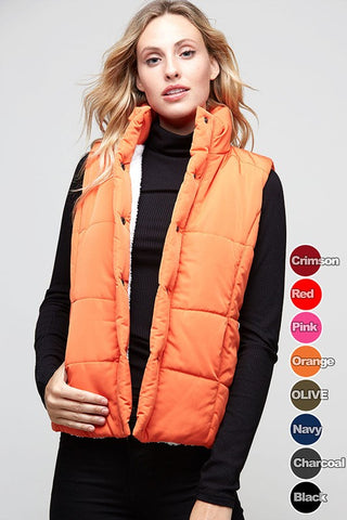 Orange County Girl Orange Vest