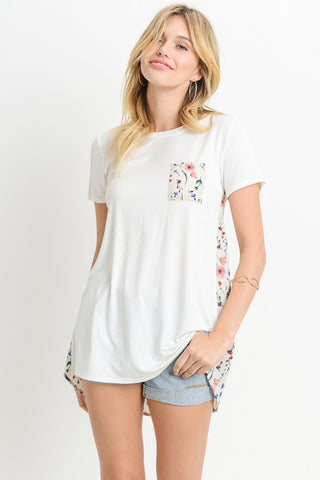 Accelerate Floral Top