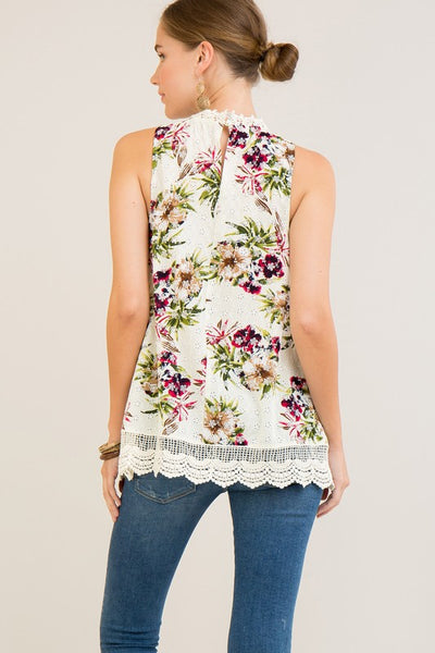Sunrise Sleeveless Tank