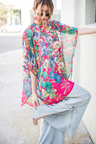 Crown Floral Blouse