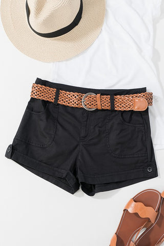 Brandy Braided belt and Shorts