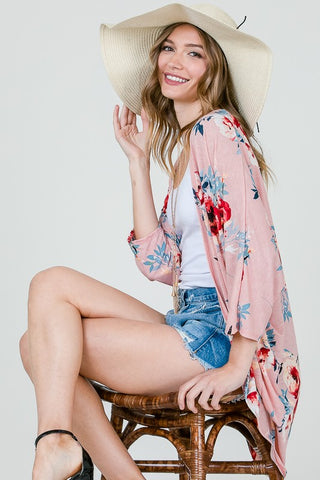 I Feel Pretty Floral Cardigan