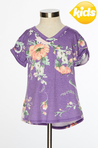 Plum Beautiful Short sleeve top in KIDS
