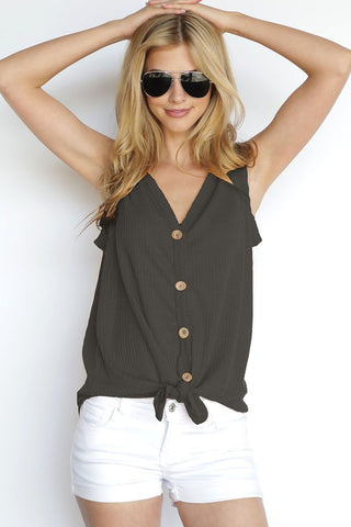 American Standard Sleeveless Top