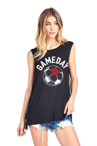 Game Day Soccer Tank