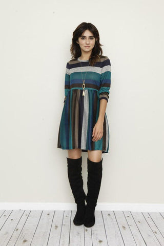 Forever Striped Dress in 3 colors