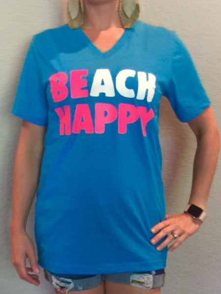 BEach Happy in T-shirt