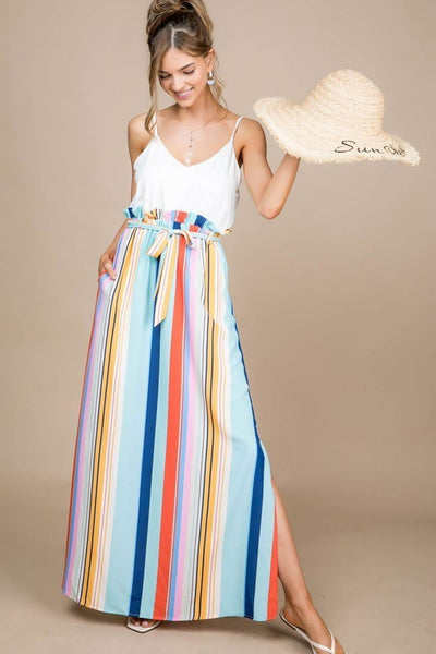 Sally Striped Dress.