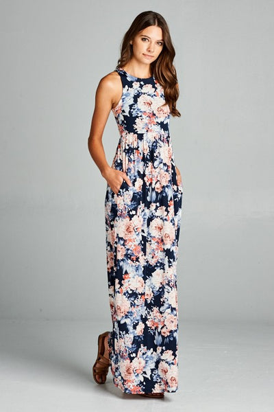 More Girls Like You Floral maxi dress