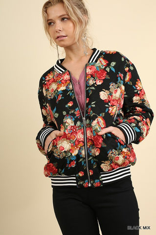 Beautiful Day Bomber Jacket