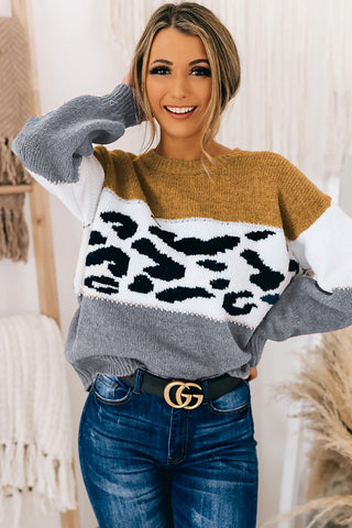 I Need You Animal Print Sweater ***ETA 1/21/21