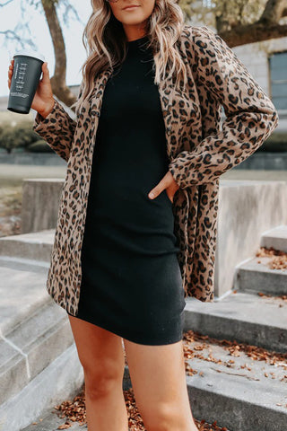 Queen Bee Leopard Jacket ***ETA 1/21/21