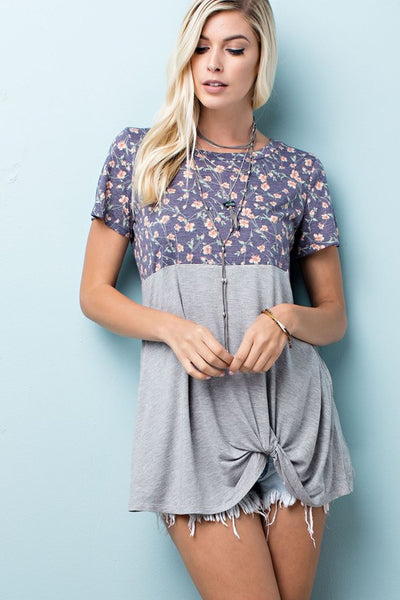 State of Grace Floral top