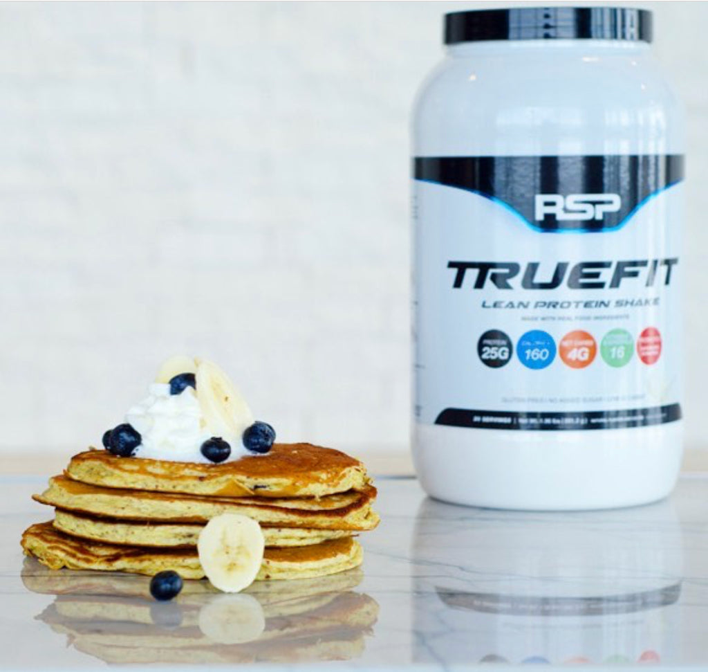 RSP Nutrition True Fit Blueberry Banana Protein Pancakes
