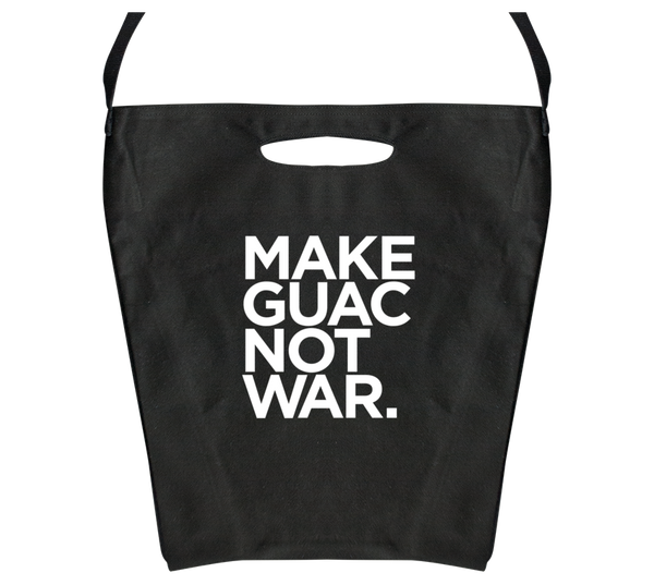 Make Guac Not War Totebag