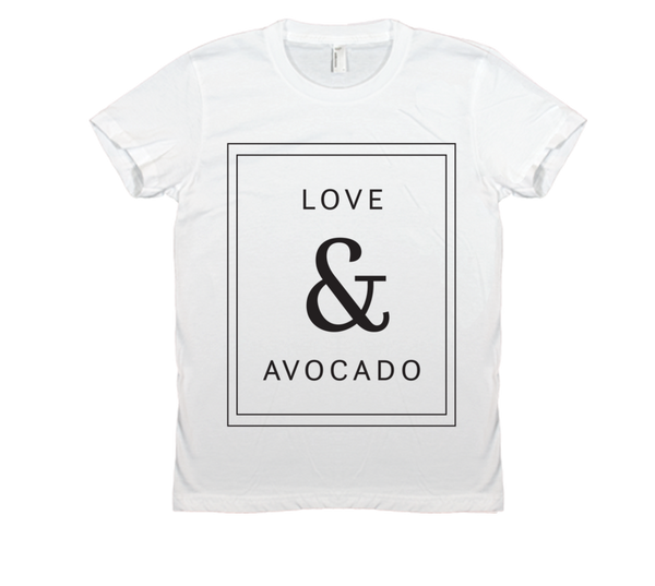 Avocado Shirt Co. Women's Love & Avocado