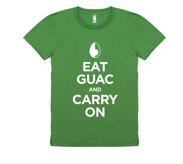 Women's Eat Guac, Carry On