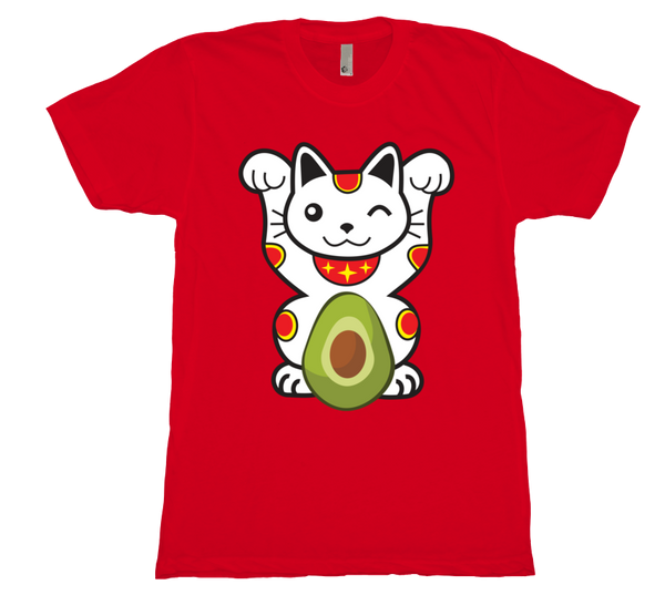 Men's Lucky Avocado Cat