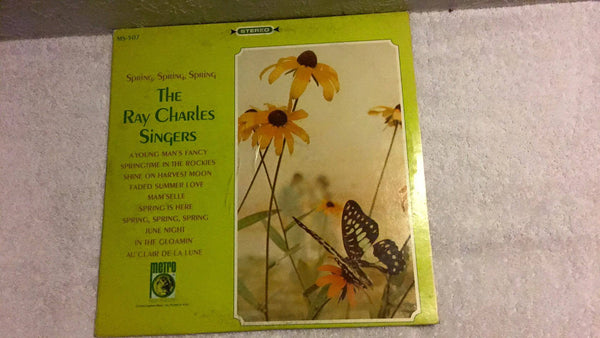 Ray Charles Singers  Spring, Spring, Spring LP MS 507 - Wayne James Limited
