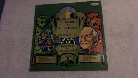 An Evening with Arthur Fiedler Great Songs for All Seasons FMS 1016-23 LP - Wayne James Limited