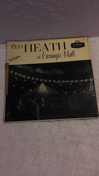 Ted Heath at Carnegie Hall  LP  LL 1566 - Wayne James Limited