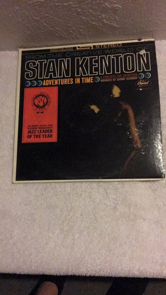 Stan Kenton  Adventures in Time  LP  ST-1844 - Wayne James Limited