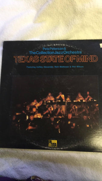 Pete Petersen & The Collection Jazz Orchestra  Texas State of Mind  PR-7143 - Wayne James Limited