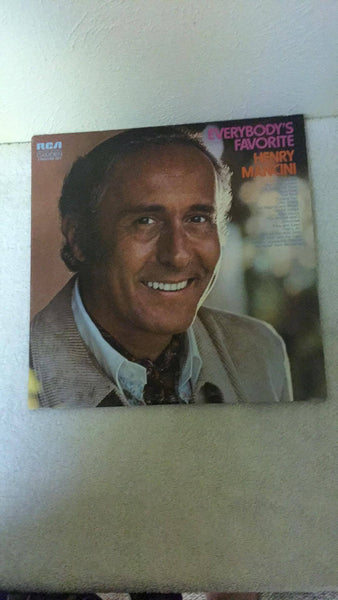 Henry Mancini  Everybody's Favorite  LP  CXS-9034  2 record set - Wayne James Limited