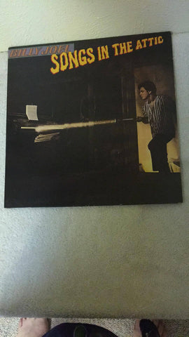 Billy Joel  Songs in the Attic  LP  TC-37461 - Wayne James Limited