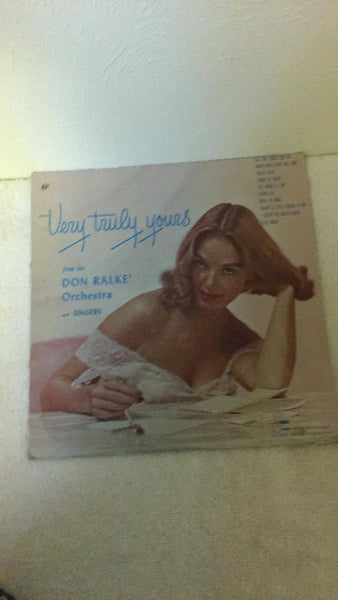 Don Ralke' Orchestra and Singers  Very Truly Yours  LP  CLP-5018 - Wayne James Limited