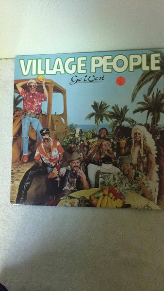 Village People  Go West  LP  NBLP 7144 - Wayne James Limited