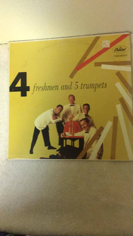 4 Freshmen and 5 Trumpets  LP  T763 - Wayne James Limited