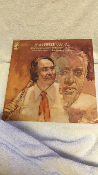 Jean-Pierre Rampal Khacharian:  Concerto for Flute and Orchestra LP  Y 33906 - Wayne James Limited